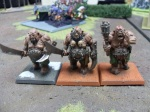Painted Ogre Bulls