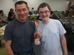 Joint last place. Winners of the Wooden Spoon!