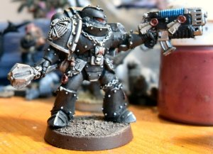 New scheme for my personal Space Marine Chapter
